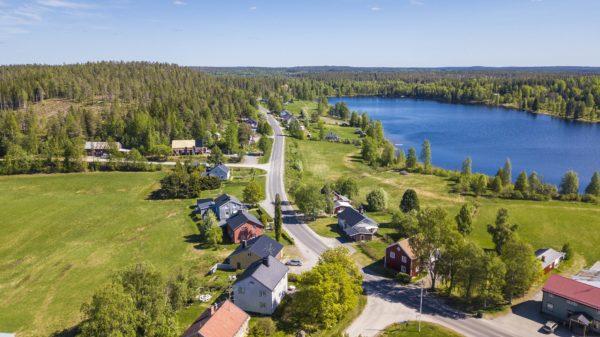 Åkullsjön från ovan sommaren 2018